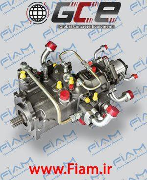 پمپ هیدرولیک دنده ای RA4V125HD