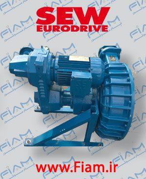 گیربکس دورمتغییر SEW سری VU مدل RF